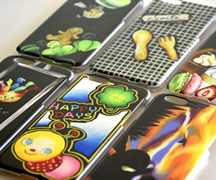 iphoneケース、チョークアート 夢工房 NAGI SIGN(ナギサイン)村上なぎさ作品